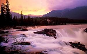 Pink-Waterfall